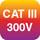 CAT III 300V