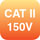 CAT II 150V
