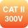 CAT II 300V