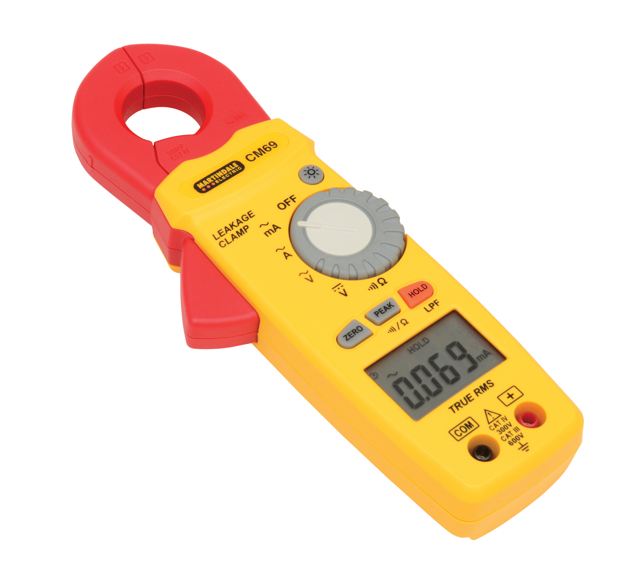 cm69 ac trms earth leakage clamp meter