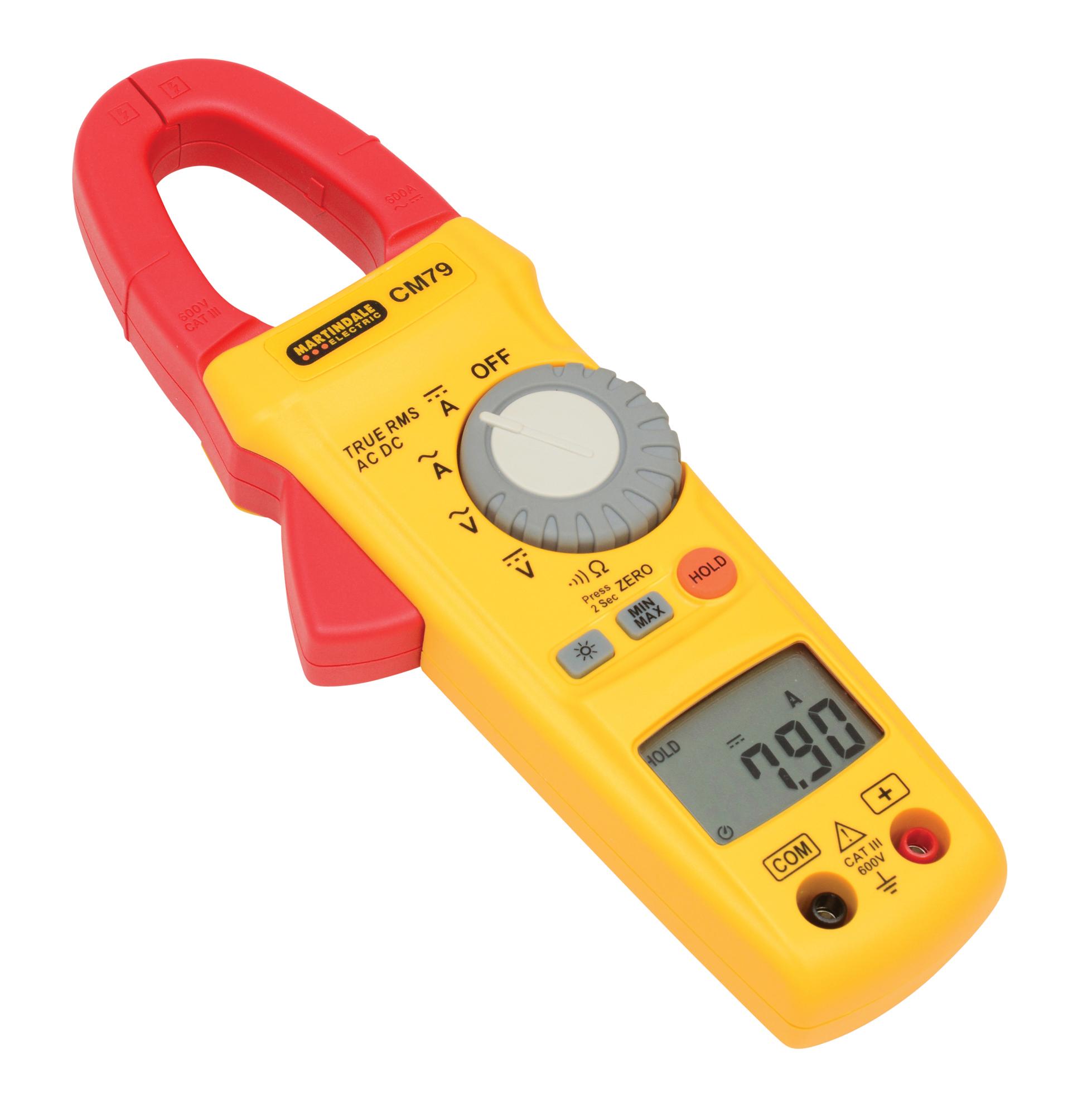 Electrical Clamp Meter : Cm trms ac dc clamp meter