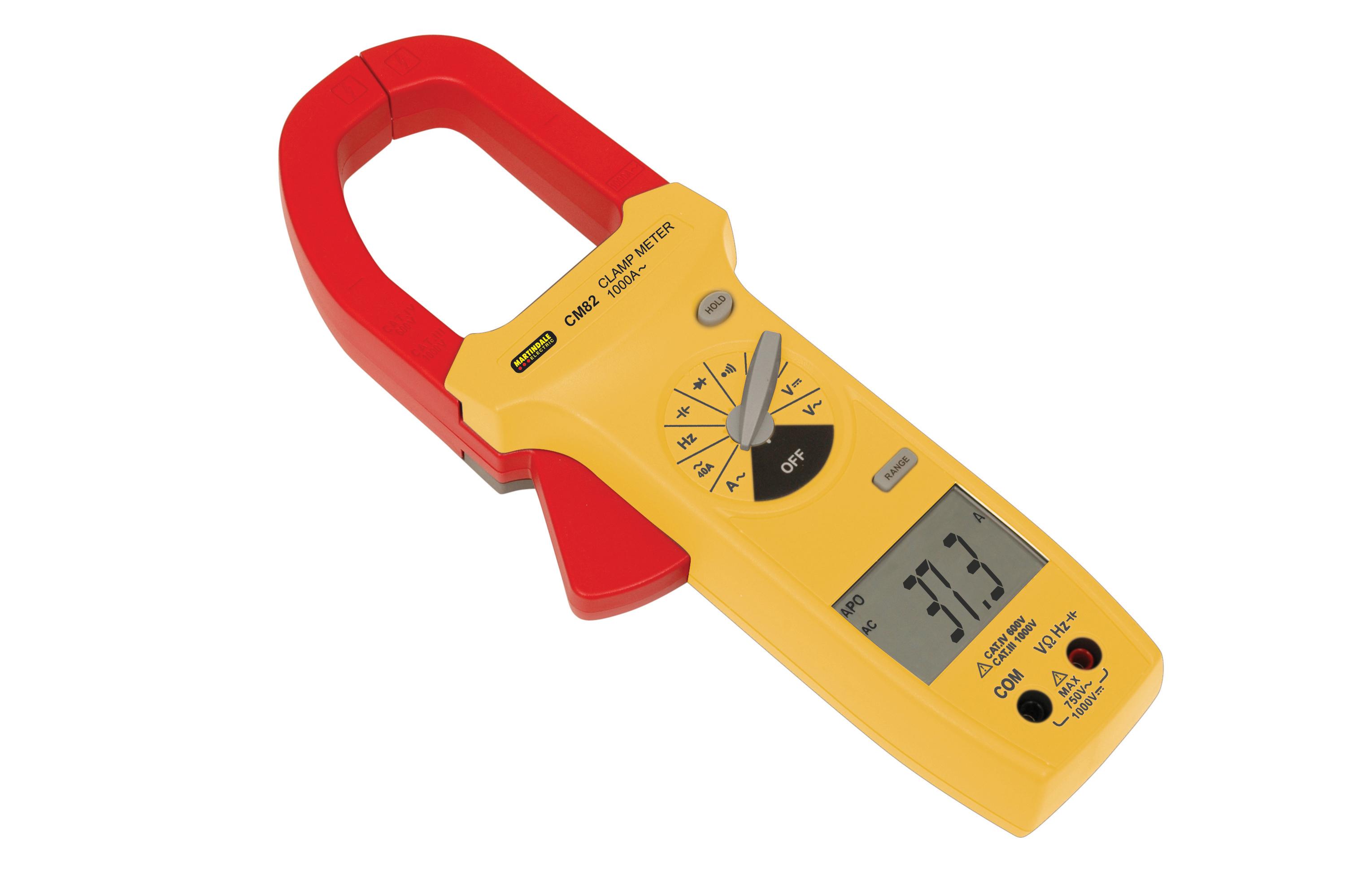 Ac Clamp Meter : Martindale cm ac clamp meter