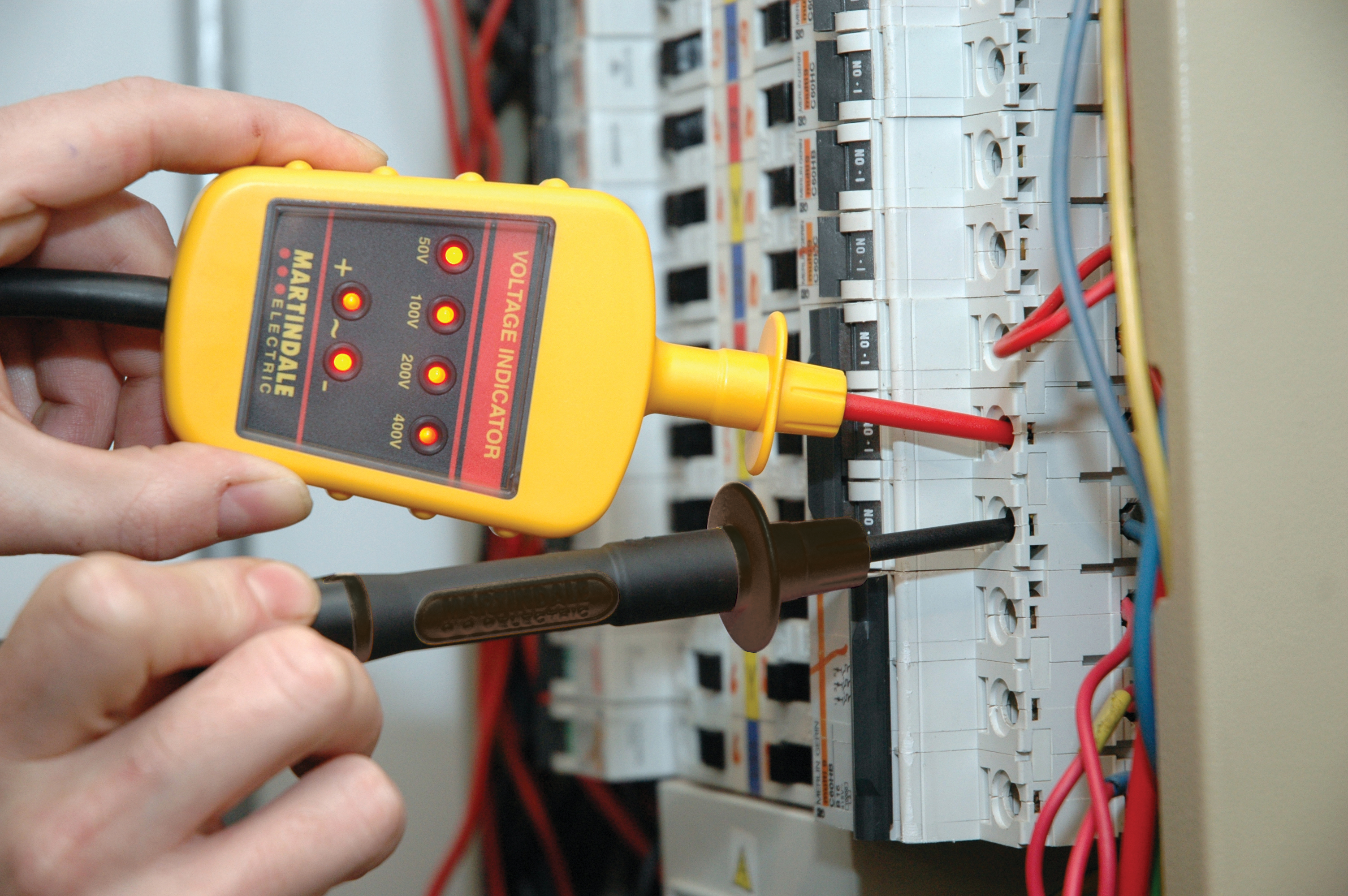 Martindale Vi13800 Voltage Indicator Dc Or Ac