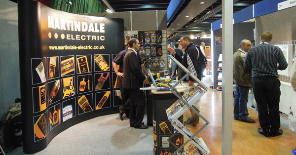 Martindale Electric exhibition stand