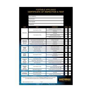 PAT Software & Certificate Pads