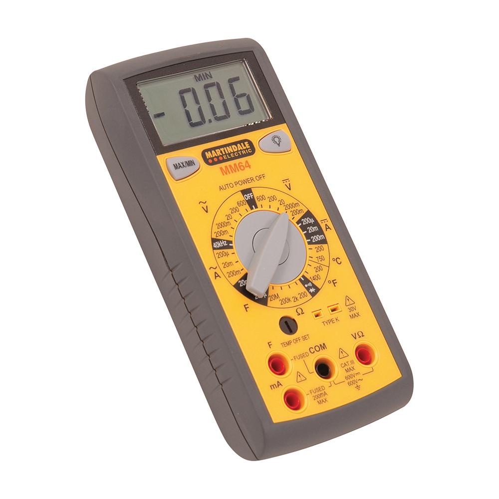 Martindale MM64 Digital Multimeter